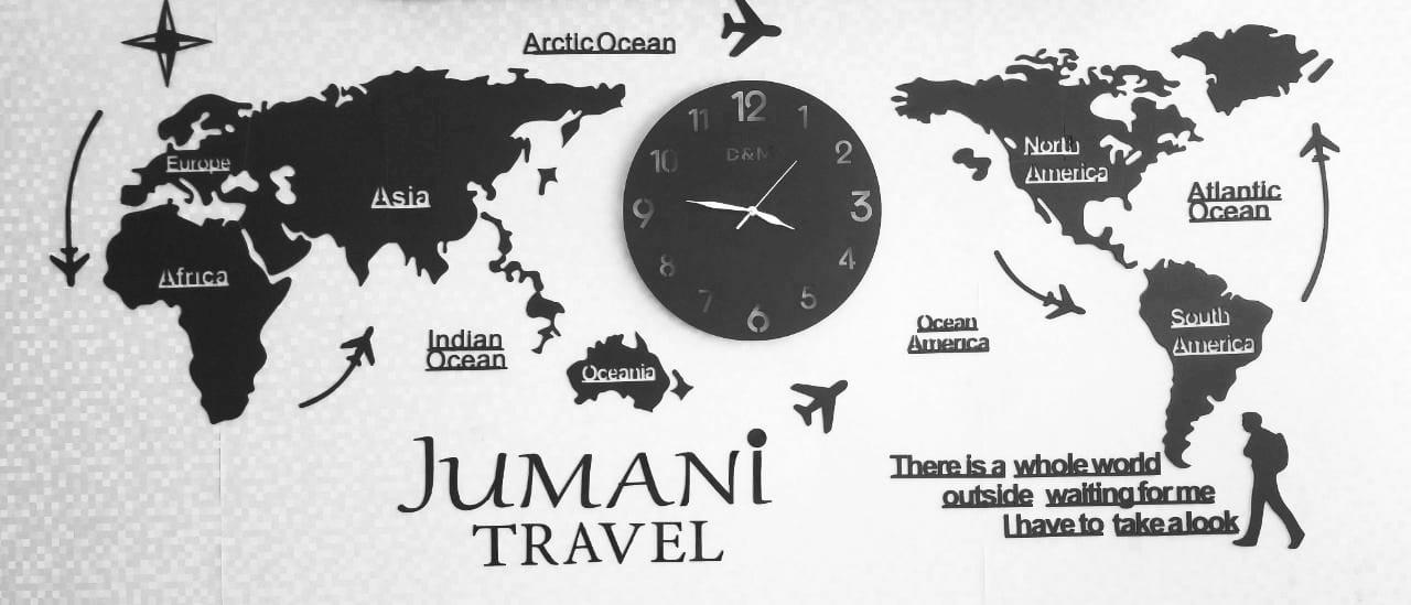 Jumani Travel Map